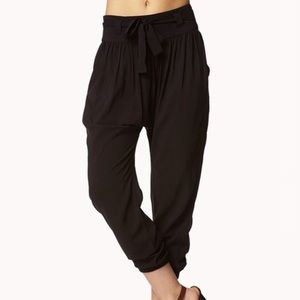 NWT Urban Outfitters Waist Tie Trousers